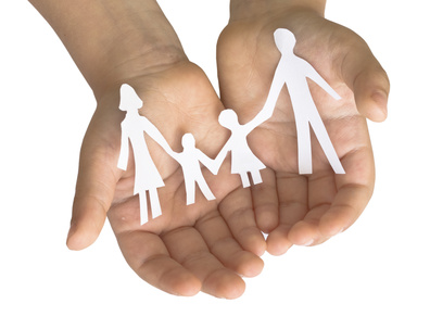 Symbol czteroosobowej rodziny