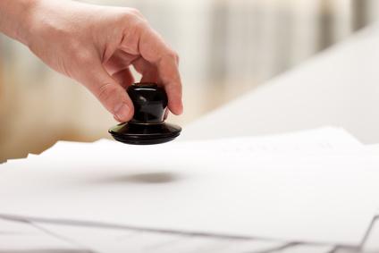 Stemplowanie dokumentów