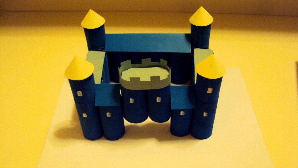 zamek z papieru 11