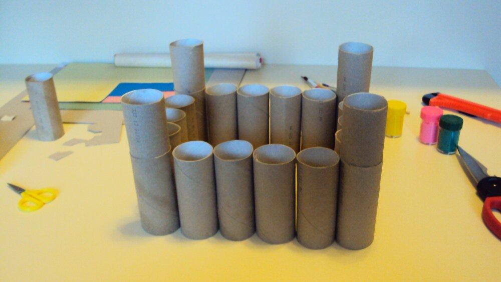 zamek z papieru 3
