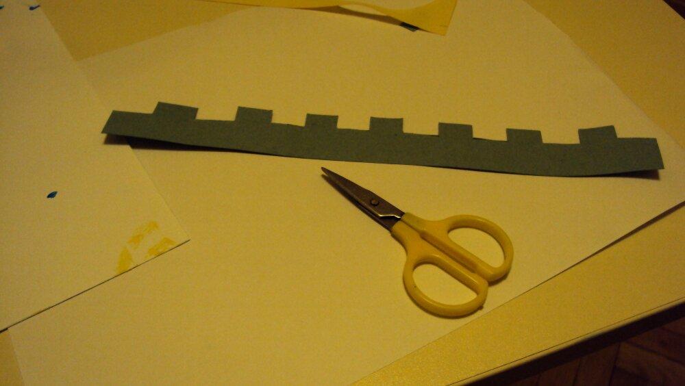 zamek z papieru 7