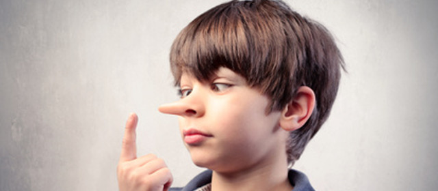 dziecko i kłamstwo